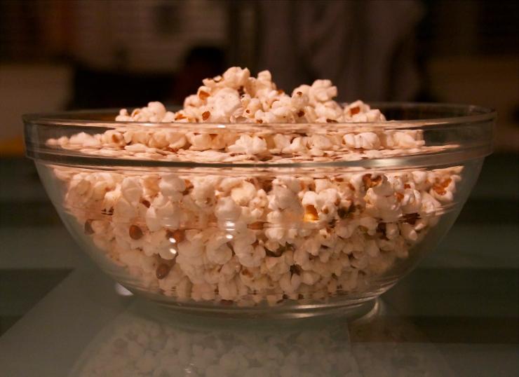 Brown Butter & Brown Sugar Popcorn